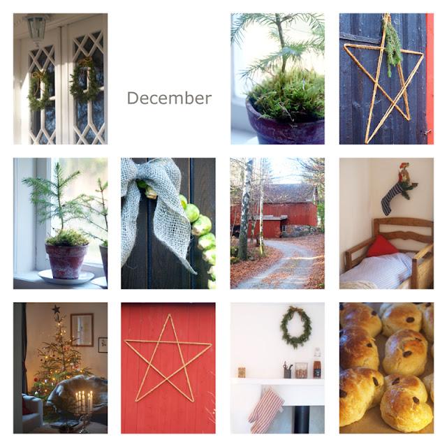 Haveåret 2016 - Jul i Sverige