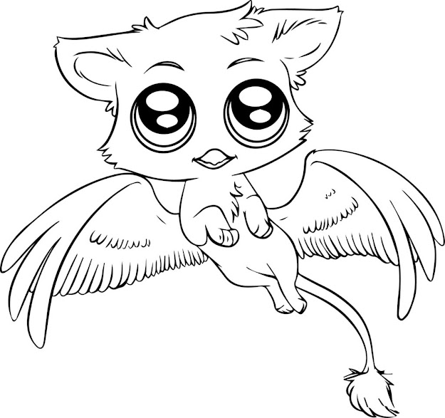 Baby Animal Coloring Pages To Print Out Free Image