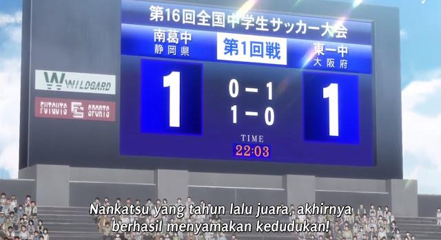 Captain Tsubasa 2018 Episode 36 Subtitle Indonesia