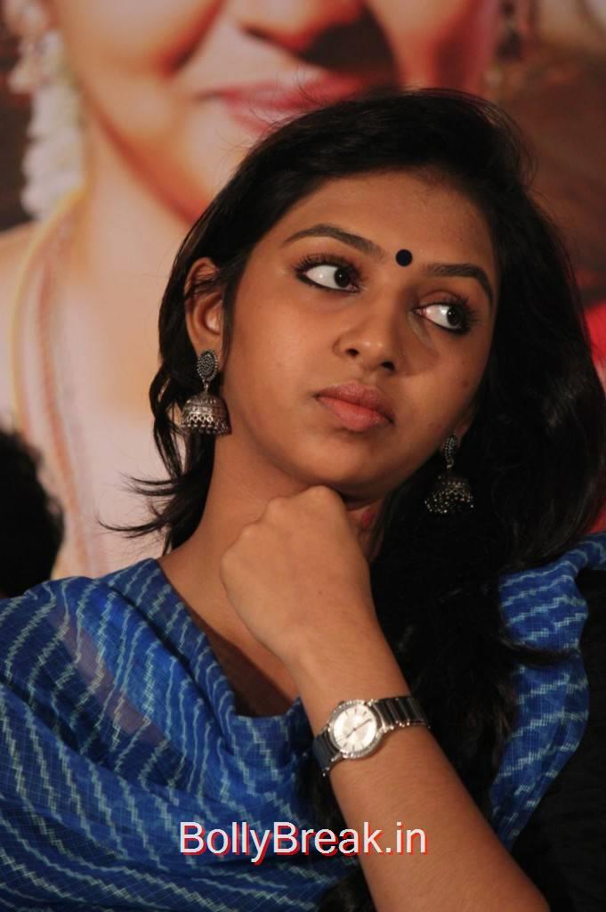 Telugu Actress Lakshmi Menon, Lakshmi Menon Hot HD Images from Komban Movie Sucess Meet