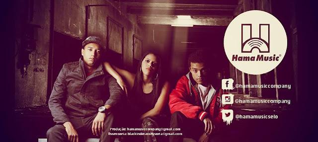 Sabotinha, Tamires (filhos do Sabotage) e o Dj Kalfani (filho do Kl Jay), lançam selo musical Hama Music