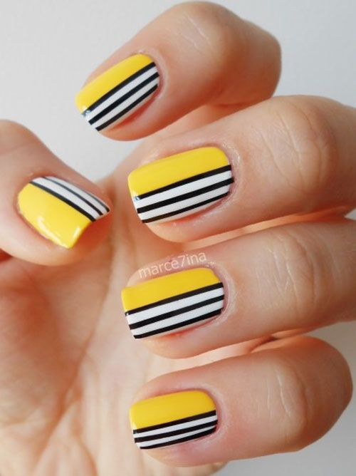Striped Nail Art Tutorials to Try Now