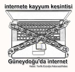 Güneydoğu'da internete Kayyum kesintisi Gerekçe: Ya ...