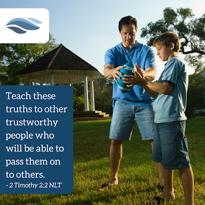 Teach these truths to other trustworthy people who will be able to pass them on to others.