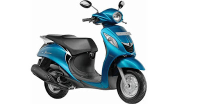 Yamaha Fascino scooter pics
