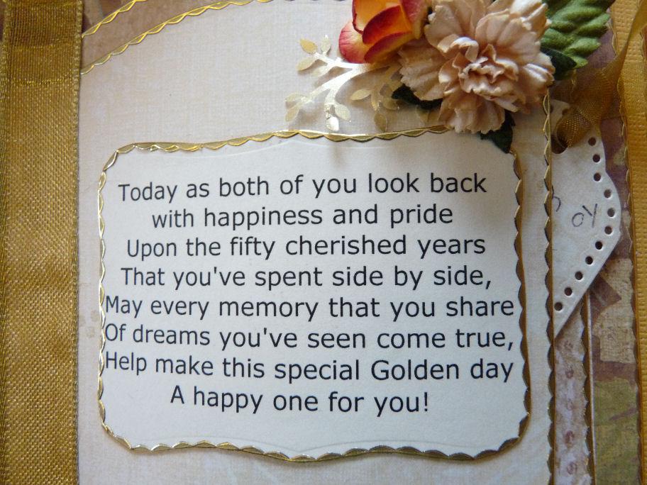 Gift Ideas For 50 Year Wedding Anniversary: .: 50th Wedding Anniversary