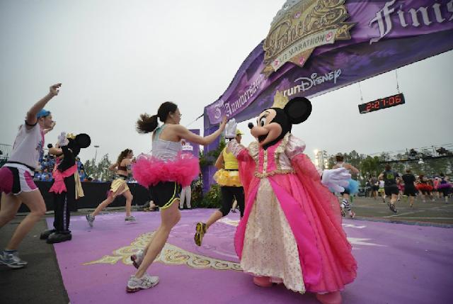Meia maratona das princesas Disney em Orlando
