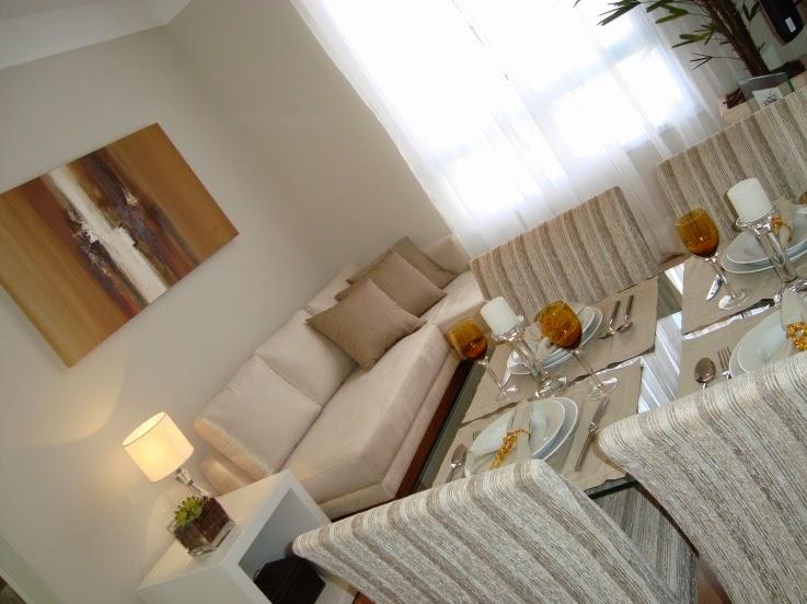 Duas pequenas salas integradas estar e jantar jeito for Sala de estar sala de jantar
