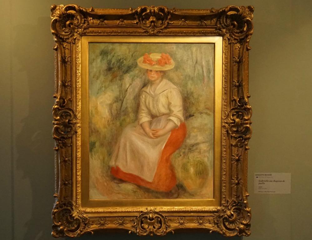Renoir's Gabrielle 2018 exhibition Bonnard Museum