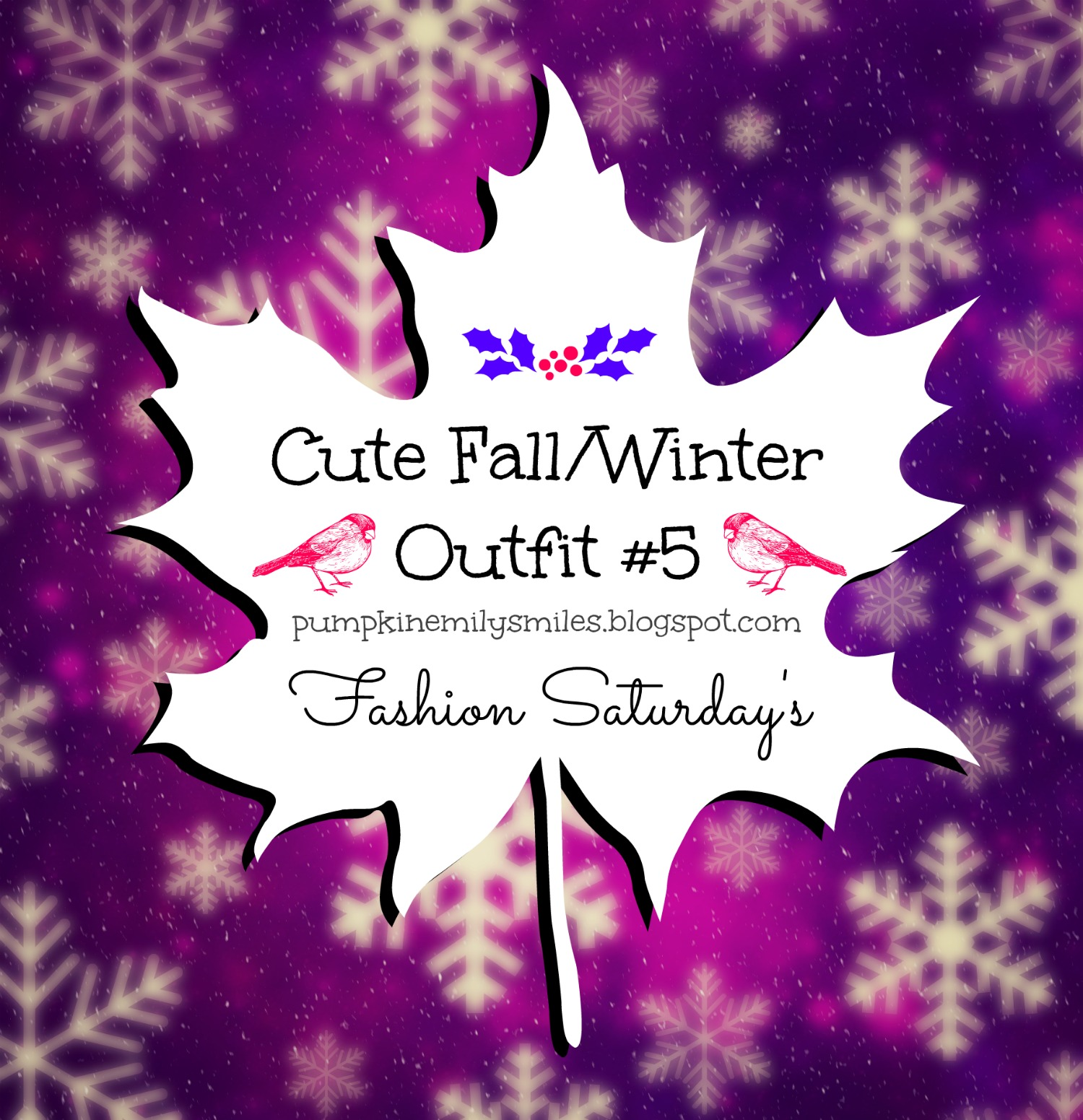 Cute Fall/Winter Outfit #5 Fashion Saturday's