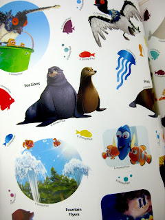Finding Dory Ultimate Sticker Collection Book