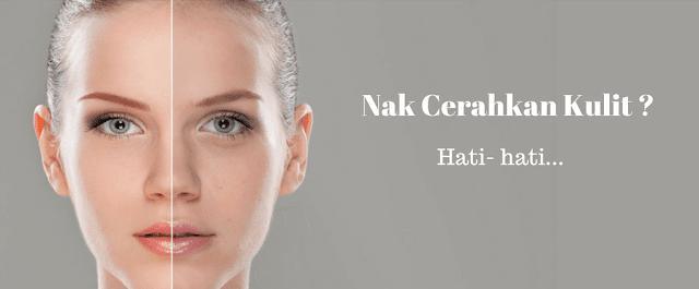 cara cerahkan kulit wajah dengan cepat tanpa side effect bahaya