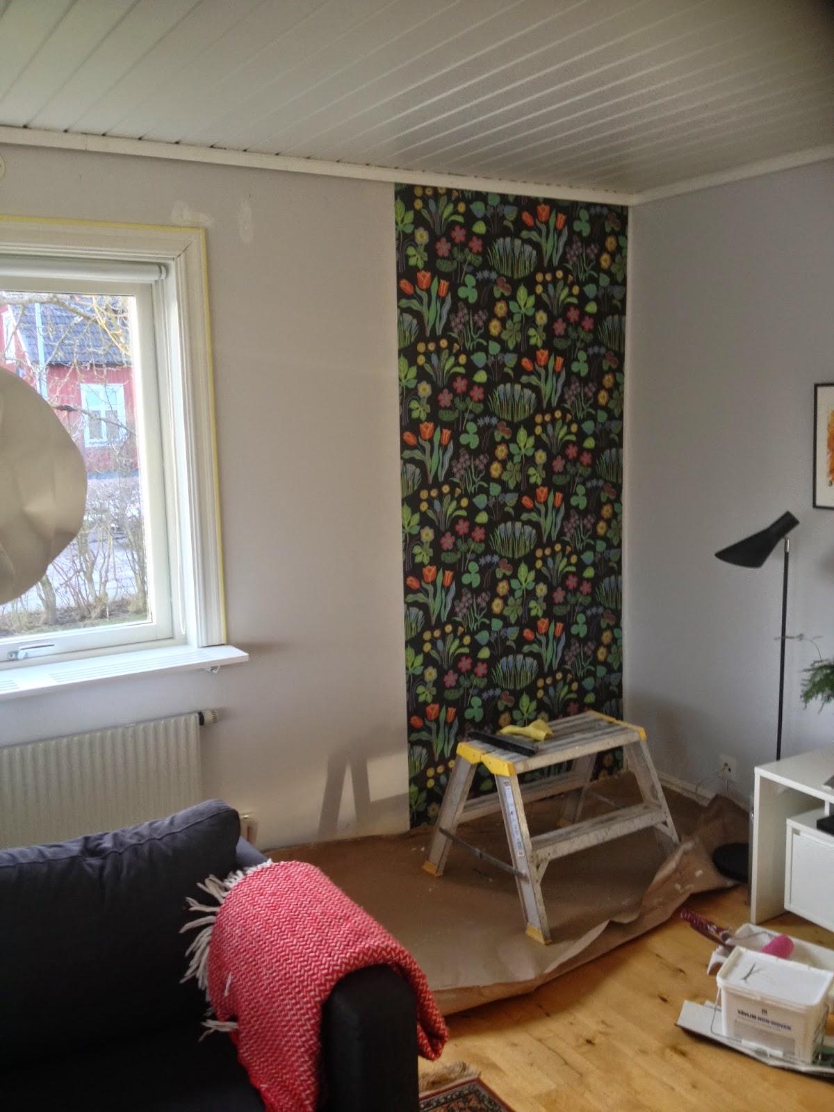 svenskt tenn tapet vårklockor