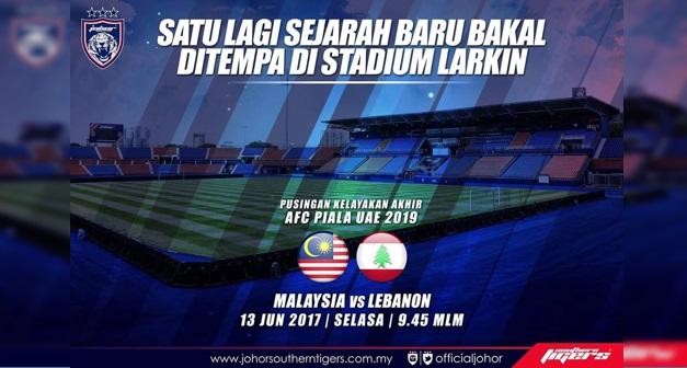 Live Streaming Malaysia vs Lubnan 13 Jun