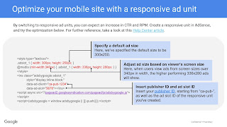 Optimize your mobile site with a responsive Adsense CSS ad unit