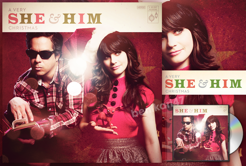 She And Him Christmas.Benikari47 S Graphics She Him A Very She Him