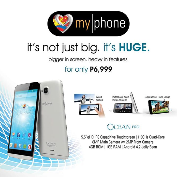 MyPhone Ocean Pro: Specs, Price and Availability
