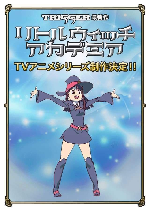 Zapowiedziano telewizyjne anime Little Witch Academia