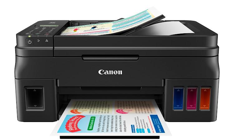 Canon PIXMA G4000 Printer Multifungsi Dengan Kemampuan Cetak Banyak Dan Murah