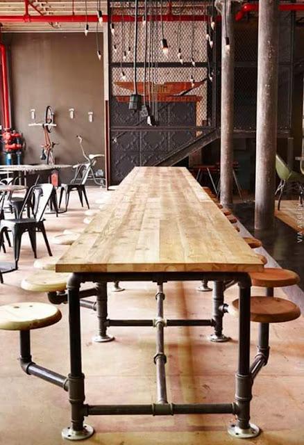 gambar meja makan jati unik