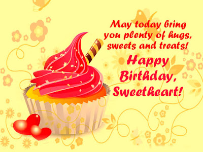Happy Birthday Sweetheart Wishes