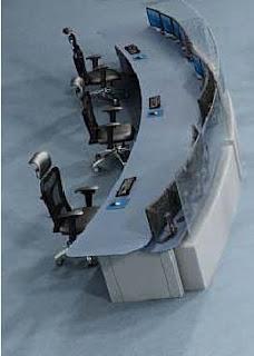 Consola supervisor centro de control