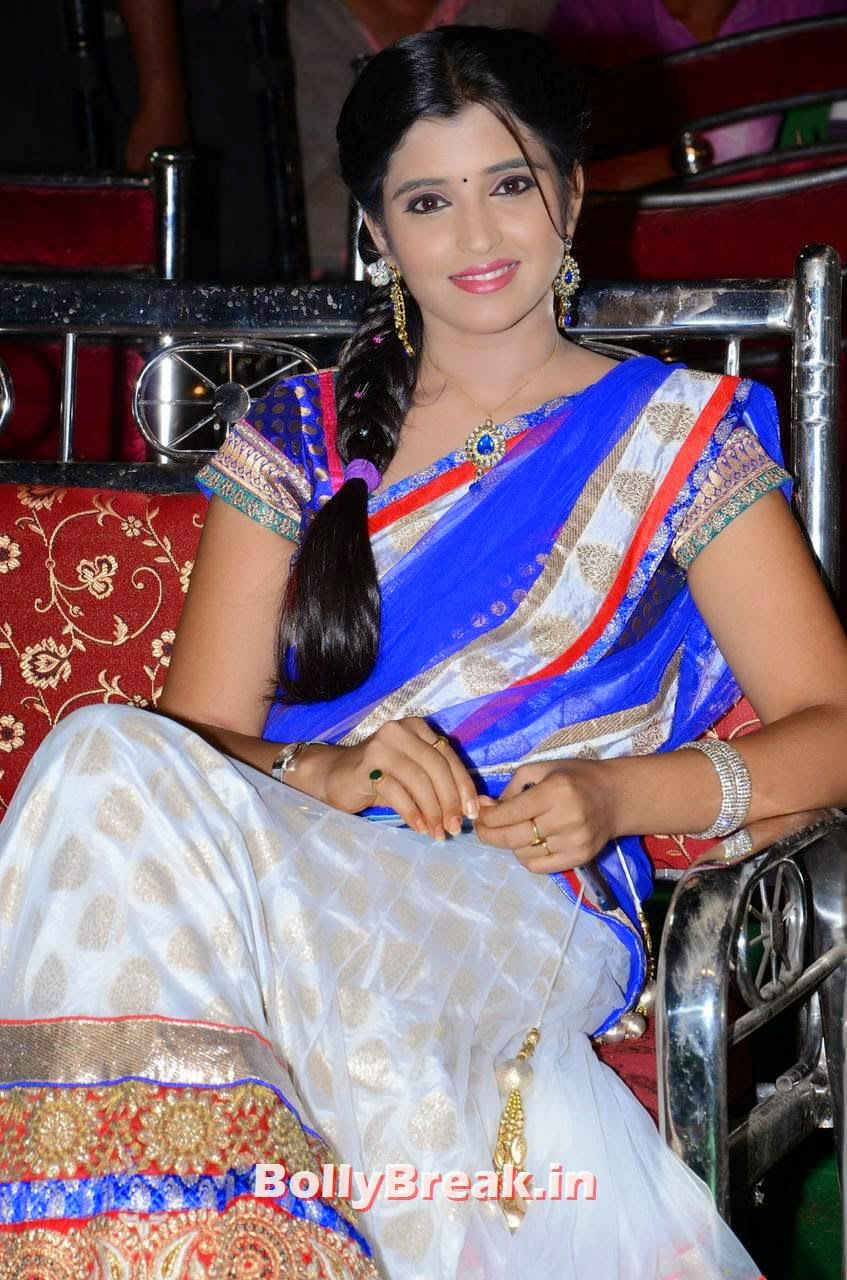 , Shyamala Hot Hd Images in Saree