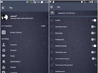 BBM MOD DarkNavy Update v3.3.3.39 Apk