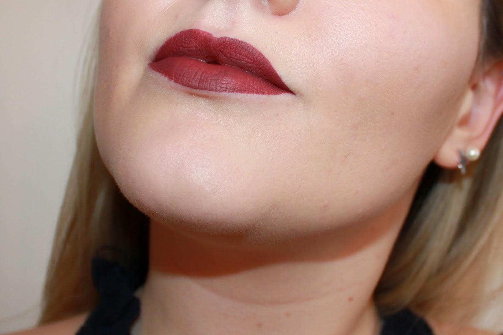 beauté avis Rouge Velouté sans transfert rouge à lèvres liquides mats teinte 24 DeuxAimes