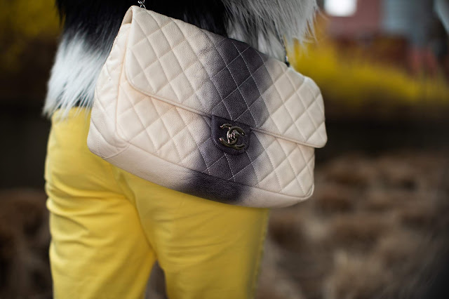ombre Chanel purse