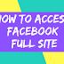 Facebook Login Home Page Full Website