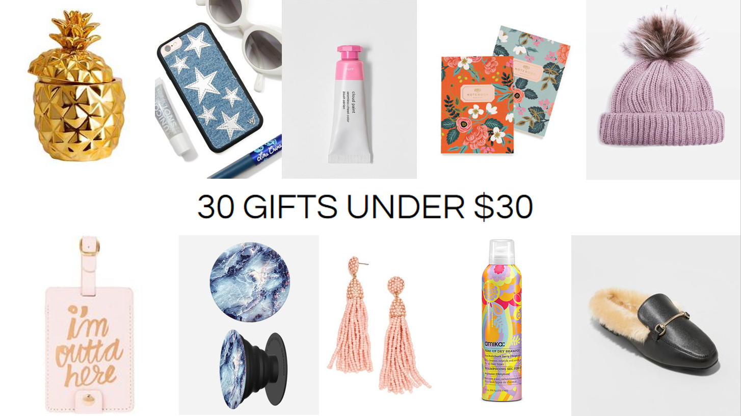 Cheap Gifts Cute Gift Ideas Under 30 Dollars Teen Birthday