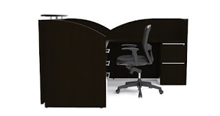 Verde L Shaped Reception Desk