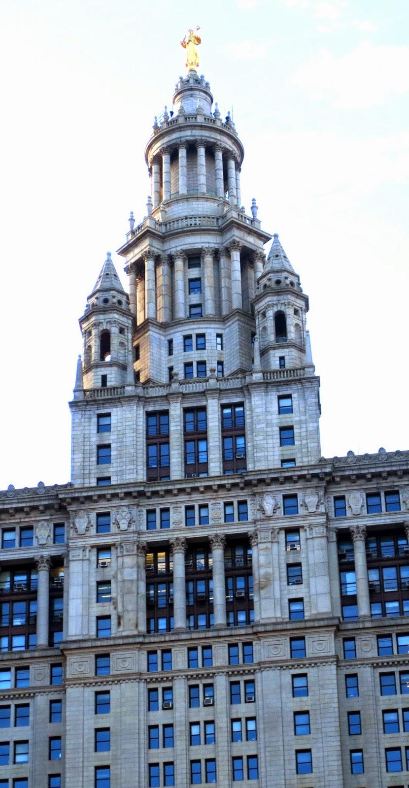 Manhattan Municipal Building: Big Apple Secrets: Manhattan Municipal Building