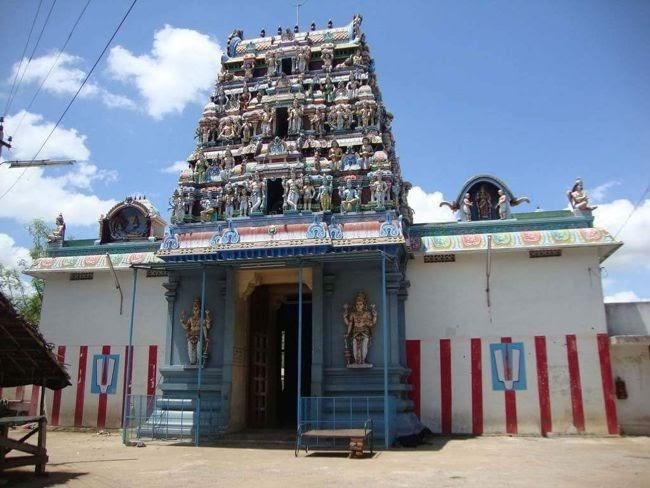 Sri Vanamutti Perumal Temple Main Gopuram