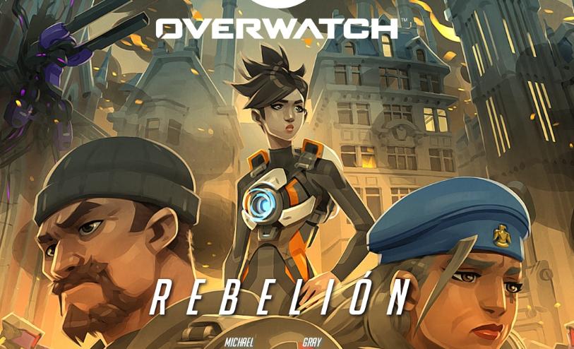¡No te pierdas el nuevo cómic de Overwatch, Rebelión!