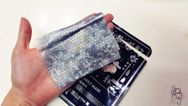 Review; A'PIEU's Silk Blanket Mask [Silver] (Cocorico Edition) + First Impression