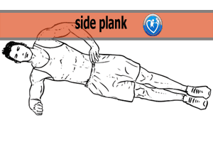 """Oblique muscles The best exercise is side planks """"not study"""""""