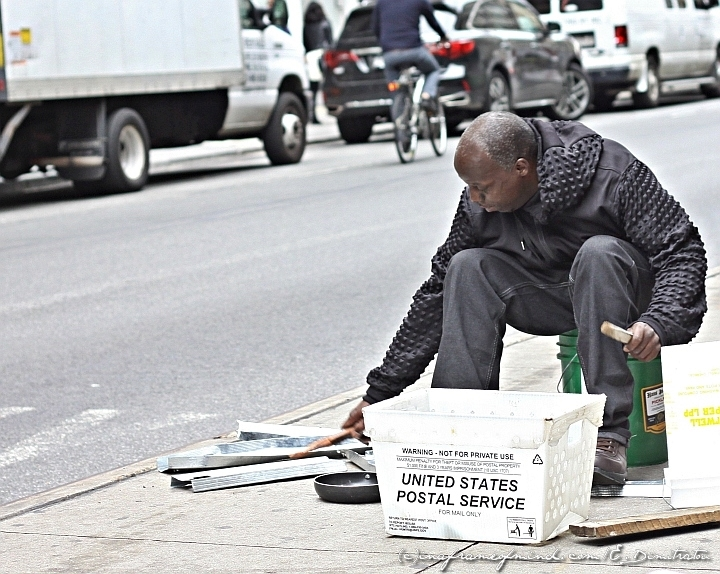 street performer SoHo