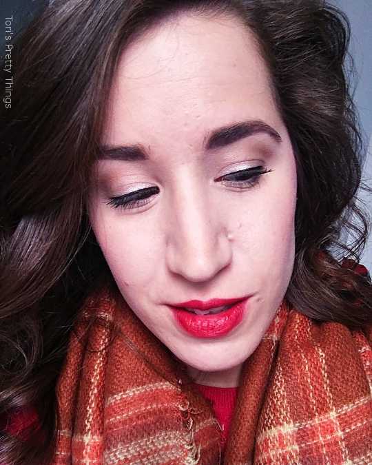 Tori's Pretty Things // Day to Day Red Makeup Look