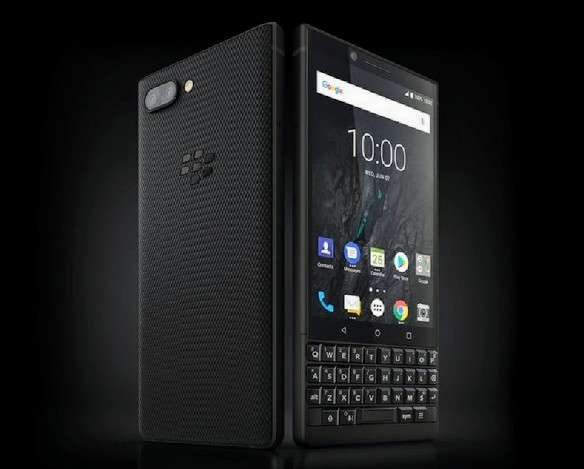 Blackberry Key 2 with QWERTY keyboard announced