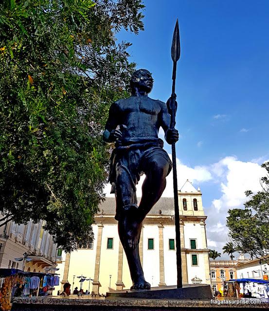 Salvador - Monumento a Zumbi dos Palmares, Praça da Sé