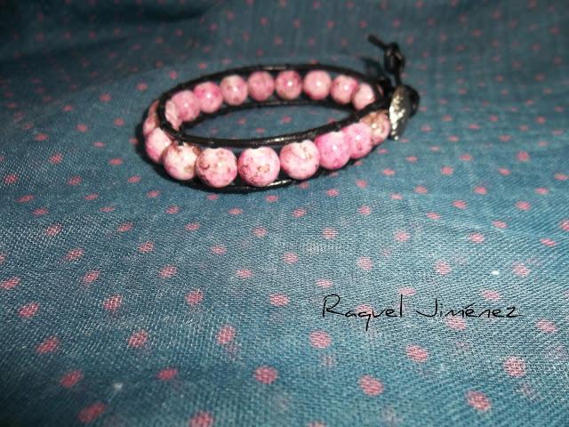 pulsera chan luu rosa