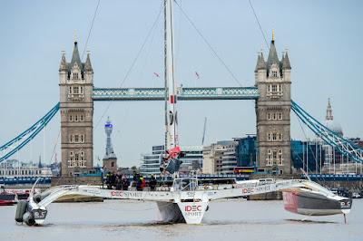 Record de la Route du Thé pour Idec Sport arrivé à Londres