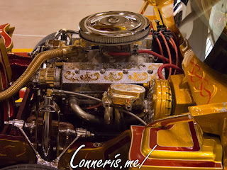 Riverfest Classic Car Show No 133 All Wrapped Up 1986 Chevrolet Crovette Engine Bay