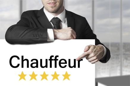 Chauffeur of Paris Car Service