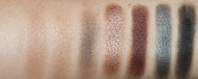Rimmel Magnif'Eyes Magnifeyes Eye Contouring Palette Eyeshadow Grunge Glamour 003 review swatches swatch