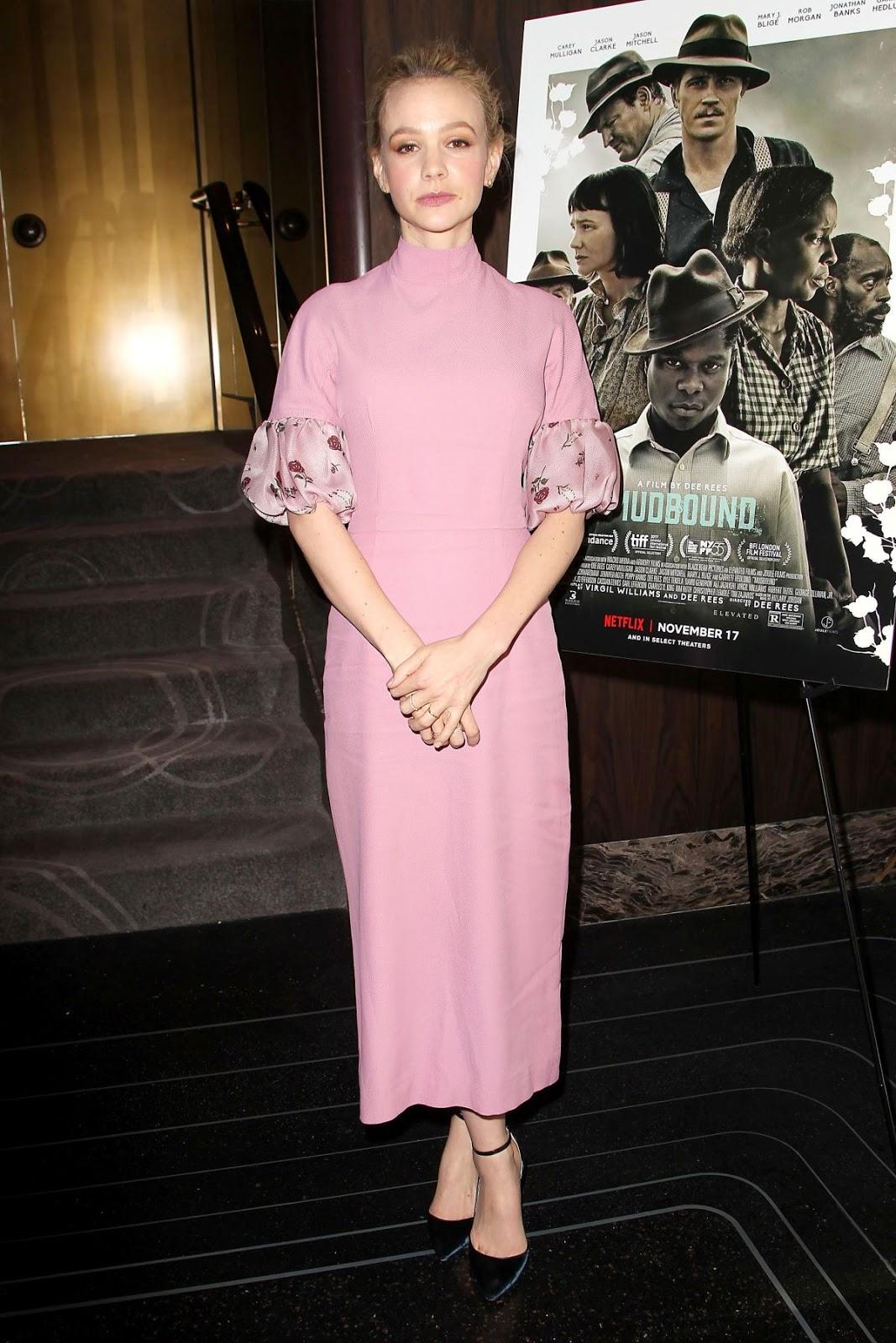 Photos of Carey Mulligan at Mudbound Special Screening and Reception in New York