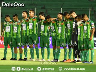 Jugadores de Oriente Petrolero realizaron un minuto de silencio en memoria de Jesús Vaca Diez - DaleOoo
