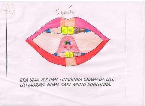 A Linguinha chamada Lili - Higiene Bucal.